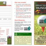 Food Bank of Eastern Michigan Drive to End Hunger Brochure
