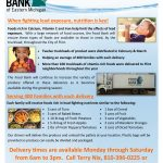 Food Bank of Eastern Michigan Mobile Nutrition Flier