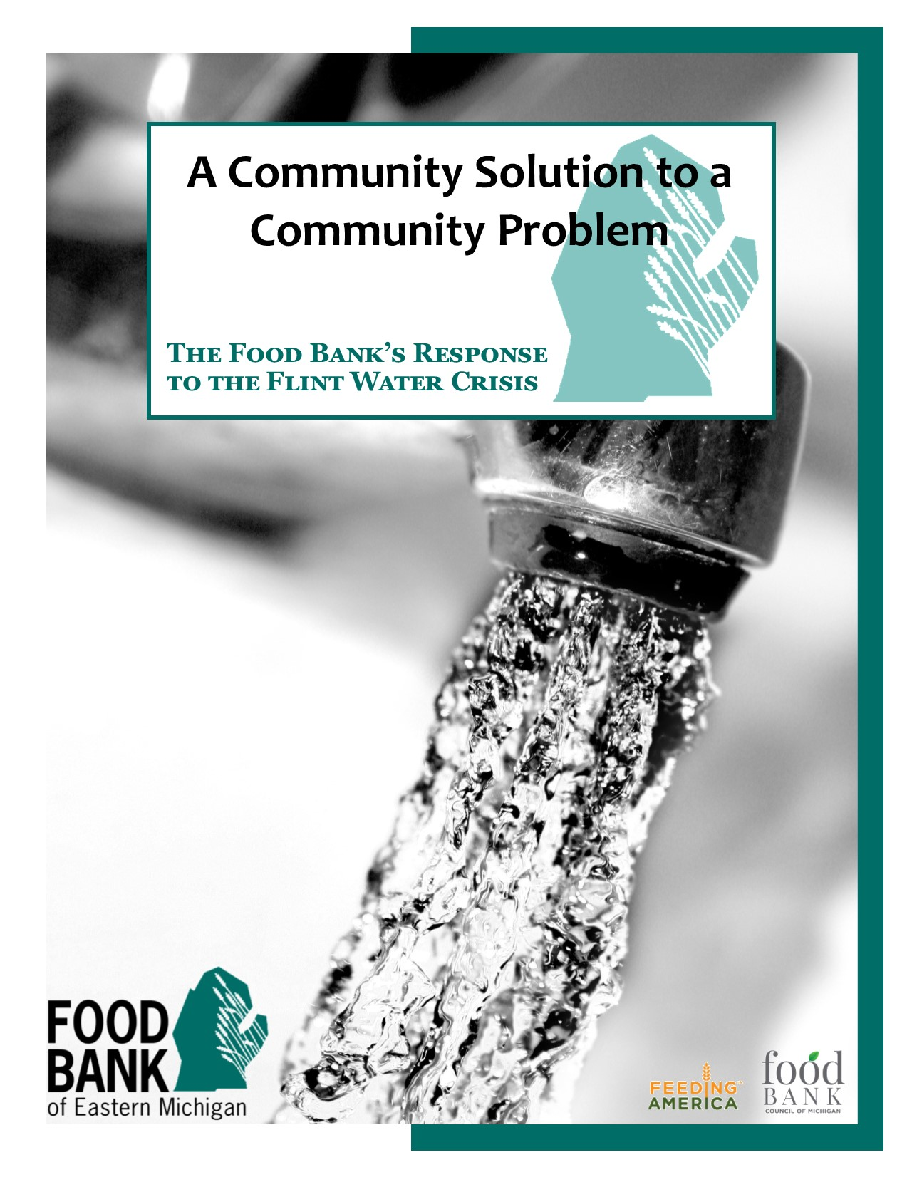 Food Bank of Eastern Michigan Water Crisis Response Booklet -
