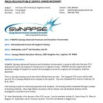 Synergy Medical Media Releases