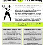 Tennis for Wellness Promotional Flier